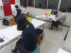 デザイン・工芸科と総合受験科