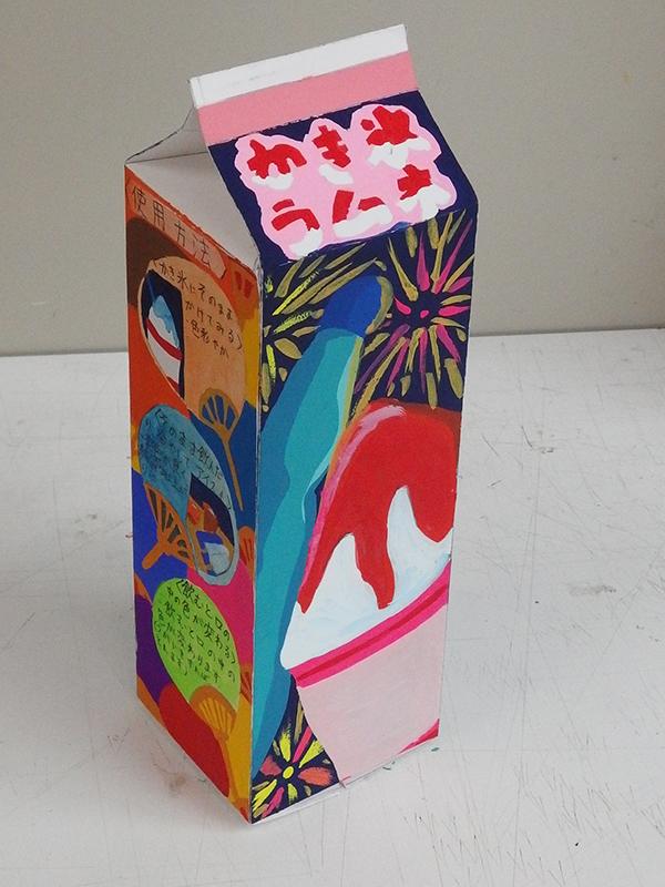 オリジナルドリンクのパッケージデザイン